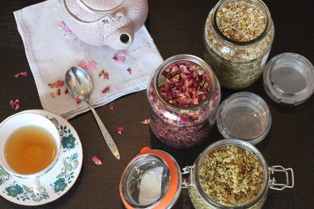 Чай с лечебными травами