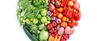 Овощи и фрукты в форме сердца
