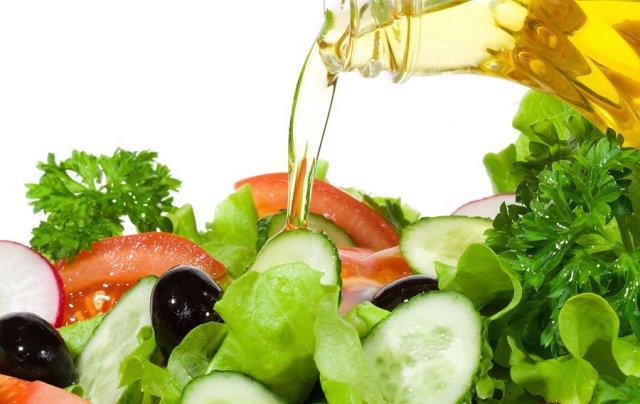 Салат с кукурузным маслом