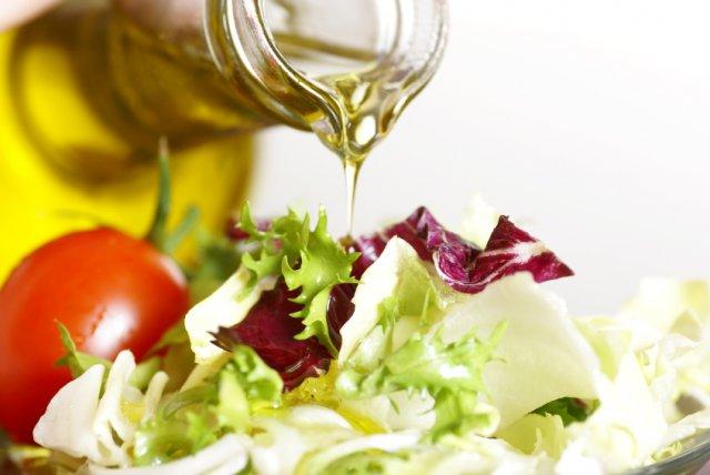 Овощи и оливковое масло