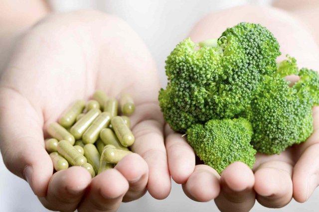 Витамины и брокколи